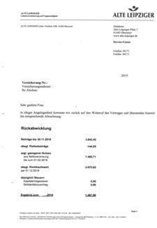 Abrechnungsschreiben von alte-leipziger2